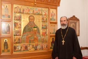 Протоиерей Михаил Подолей — настоятель