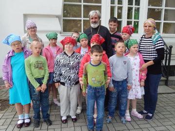 25 июня наш храм принимал детей из детского дома № 2.