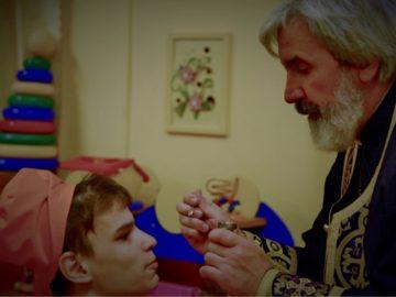 Дети в Петергофском Детском доме № 2 причастились Святых Христовых Таин