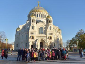 Паломническая поездка воскресной школы храма святого праведного Иоанна Кронштадтского в г. Кронштадт.