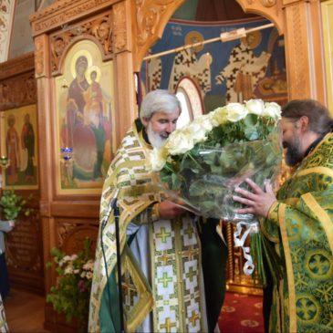 Поздравление настоятеля нашего храма протоиерея Михаила Подолея с 22-ой годовщиной священнической хиротонии