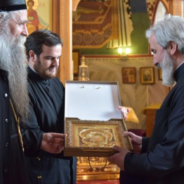 26 июня гости из Сербской православной церкви посетили наш храм