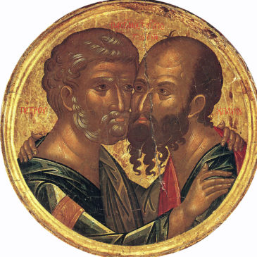 29 июня /12 июля – День святых первоверховных апостолов Петра и Павла