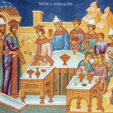 Воскресная проповедь настоятеля храма св. прав. Иоанна Кронштадтского протоиерея Михаила Подолея в Неделю 14-ю по Пятидесятнице
