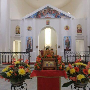 Престольный праздник храма святых мучеников Адриана и Наталии в Старо-Паново