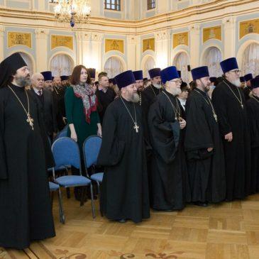 12 декабря состоялось ежегодное епархиальное собрание