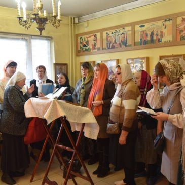 6 февраля, в день памяти святой блаженной Ксении Петербургской, в домовом храме при СПБ ГБУ «Комплексный центр социального обслуживания населения» Красносельского района отметили престольный праздник