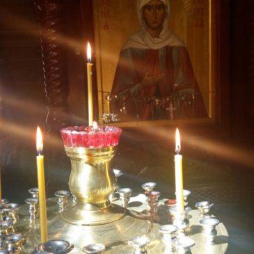 Красносельское благочиние. Пасхальный праздник в храме святой блаженной Ксении Петербургской