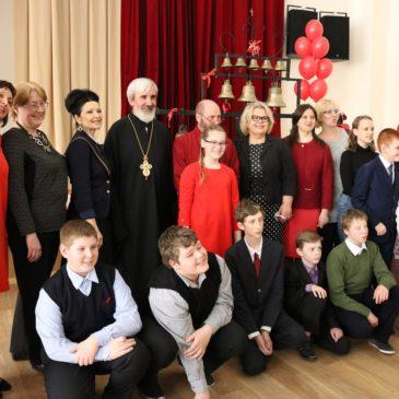 Красносельское благочиние. Пасхальный концерт с участием детей из воскресных и общеобразовательных школ