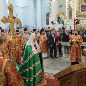 Совершен чин великого освящения Измайловского собора