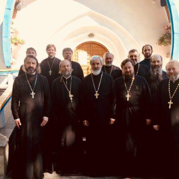 Состоялась встреча настоятелей храмов Красносельского благочиния