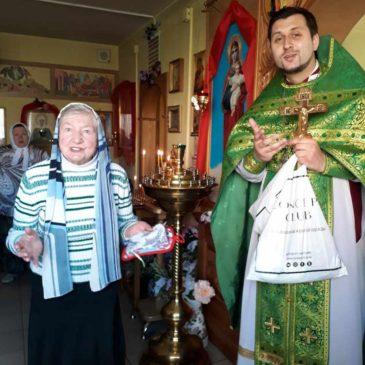 Настоятель храма святой блаженной Ксении Петербургской поздравил прихожан храма с Днем Победы