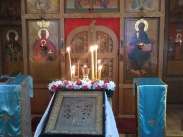 Престольный праздник в храме «Всех скорбящих Радость» в поселке Сергиево